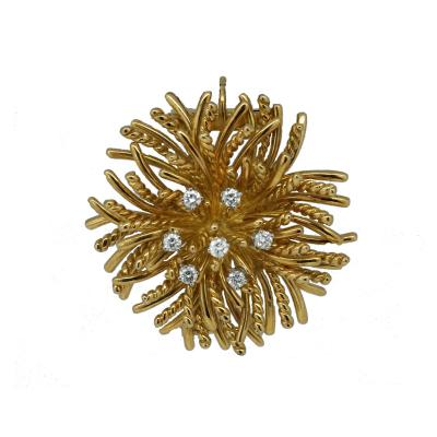 Tiffany and Co Tiffany Co Anemone Diamond Brooch