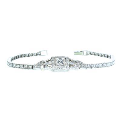 Tiffany and Co Tiffany Co Art Deco Platinum Bracelet