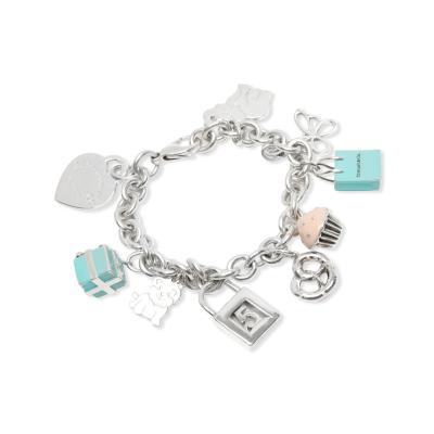 Tiffany and Co Tiffany Co Charm Bracelet in Sterling Silver