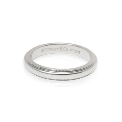 Tiffany and Co Tiffany Co Classic Milgrain 3mm Wedding Band in Platinum