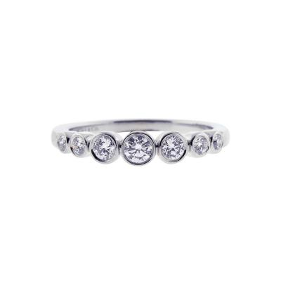 Tiffany and Co Tiffany Co Diamond Jazz Band Ring