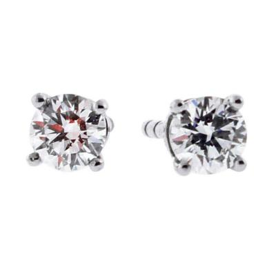Tiffany and Co Tiffany Co Diamond Stud Earrings