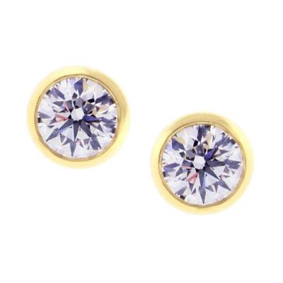 Tiffany and Co Tiffany Co Elsa Peretti Diamonds by the Yard Certified Stud Earrings