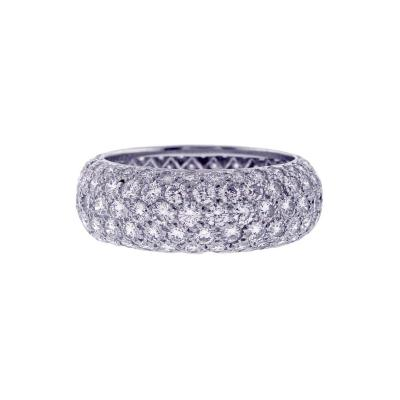 Tiffany and Co Tiffany Co Etoile Five Row Diamond Band Ring