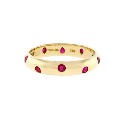 Tiffany and Co Tiffany Co Etoile Ruby Band Ring
