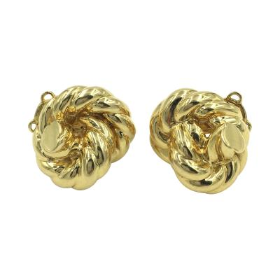 Tiffany and Co Tiffany Co Gold Knot Earrings