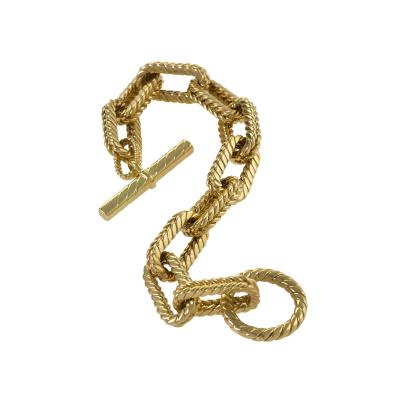 Tiffany and Co Tiffany Co Gold Link Bracelet