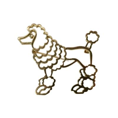 Tiffany and Co Tiffany Co Gold Poodle Pin
