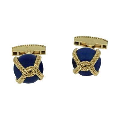 Tiffany and Co Tiffany Co Lapis Lazuli Cufflinks