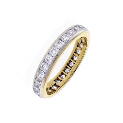 Tiffany and Co Tiffany Co Lucida Diamond 18 Karat Band Ring