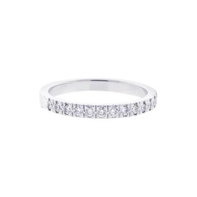 Tiffany and Co Tiffany Co Novo Diamond Wedding Band Ring
