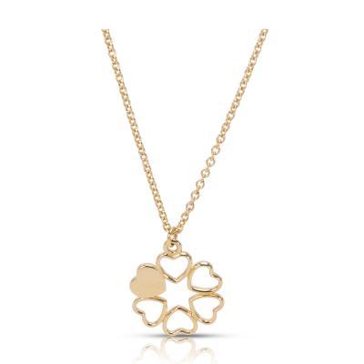 Tiffany and Co Tiffany Co Paloma Picasso Mini 6 Heart Pendant in 18K Yellow Gold