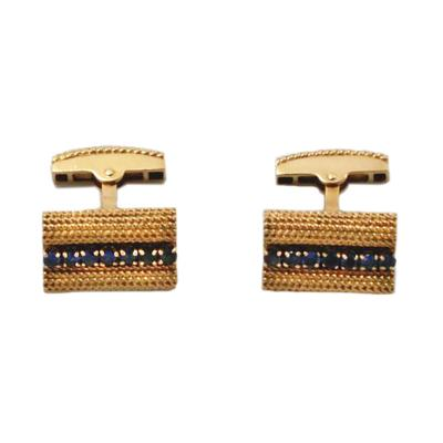 Tiffany and Co Tiffany Co Sapphire Cufflinks