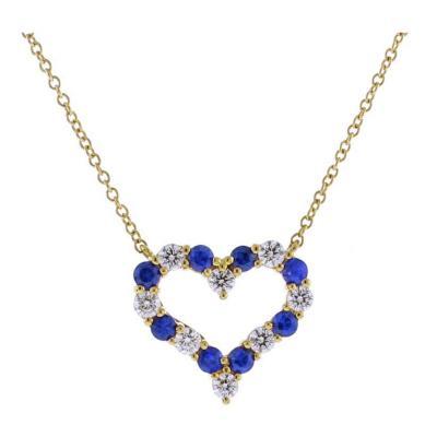 Tiffany and Co Tiffany Co Sapphire and Diamond Pendant