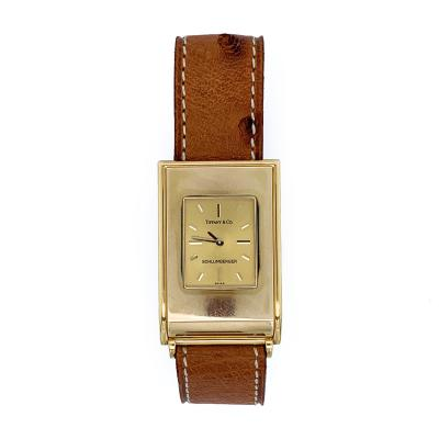 Tiffany and Co Tiffany Co Schlumberger Swiss Made Gold Watch