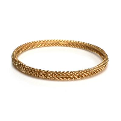 Tiffany and Co Tiffany Co Somerset Bangle in 18KT Yellow Gold