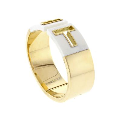 Tiffany and Co Tiffany Co T Cutout Cuff Bangle Bracelet