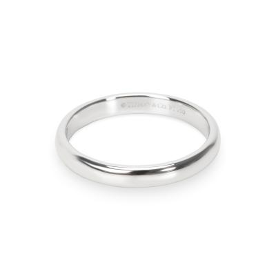 Tiffany and Co Tiffany Co Unisex Wedding Band in Platinum 3mm