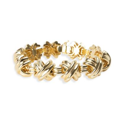 Tiffany and Co Tiffany Co X Bracelet in 18K Yellow Gold
