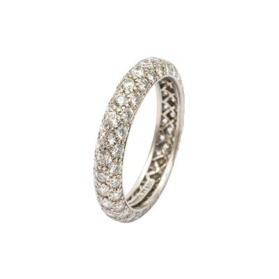 Tiffany and Co Tiffany Diamond Etoile Eternity Band