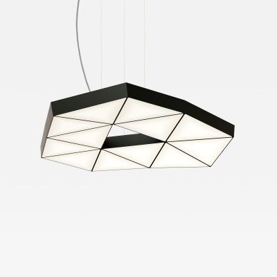 Tokio Furniture Lighting Contemporary Modular Pendant Light Tri Light TRI12 1