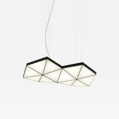 Tokio Furniture Lighting Contemporary Modular Pendant Light Tri Light TRI12