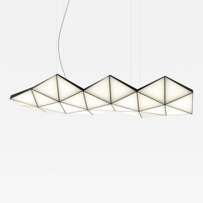 Tokio Furniture Lighting Contemporary Modular Pendant Light Tri Light TRI26