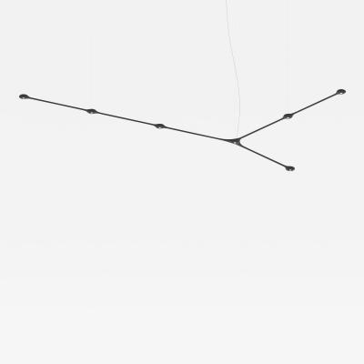 Tokio Furniture Lighting Contemporary Suspension Carbon Light Pendant CARB07 00