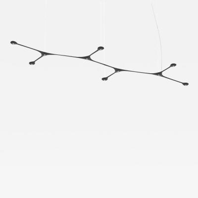 Tokio Furniture Lighting Contemporary Suspension Carbon Light Pendant CARB10 00