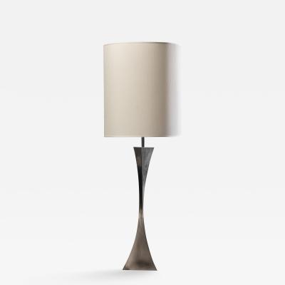 Tonello A Tonello A Montagna Grillo Metal Table Lamp Italy 1970s