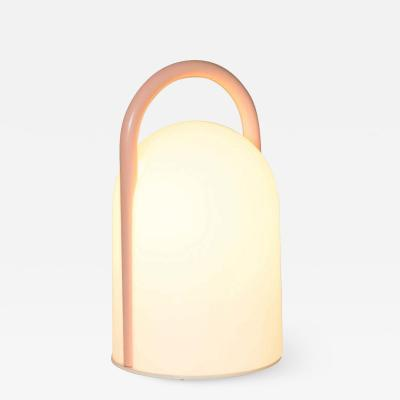 Tronconi 1980s Romolo Lanciani Tender Glass Table Lamp for Tronconi