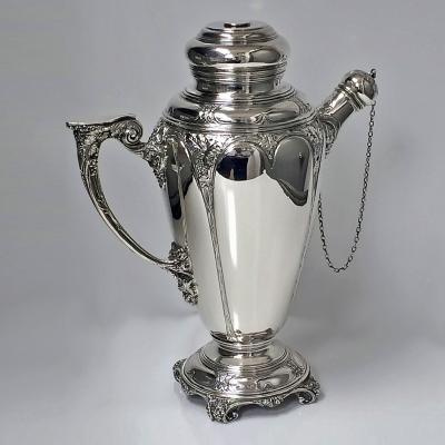 Turner Simpson Fine Silver Cocktail Shaker Birmingham 1928 Turner Simpson