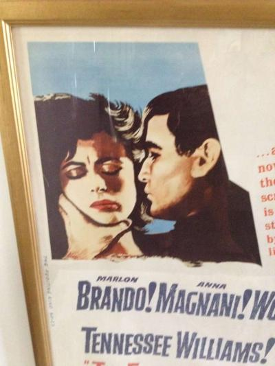 United Artists Original The Fugitive Kind Movie Poster