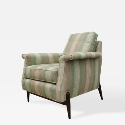 Unknown Mid Century Upholstered Lounge Chair