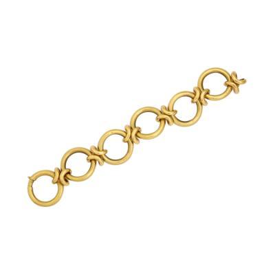 UnoAErre Retro 18 kt Open Link Bracelet by UnoARerre