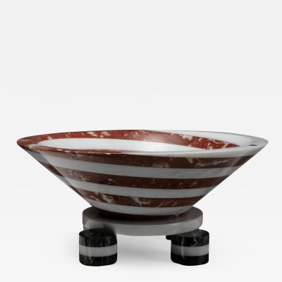 Up Up Portafrutta Marble Bowl by Martin Bedin for Up Up