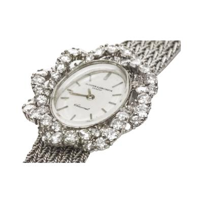 Vacheron Constantin 1970s Vacheron Constantin For Chaumet 18KT DIAMOND TWIST WRISTWATCH