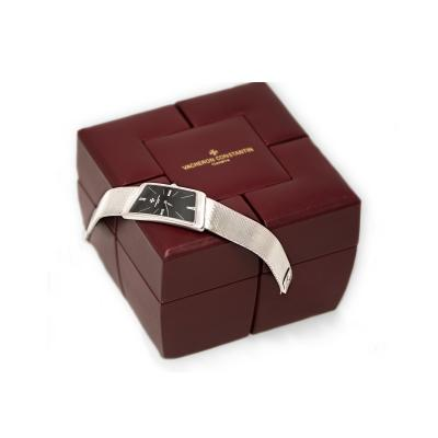 Vacheron Constantin Rare 1972 Vacheron Constantin Prestige De La France 18kt WG Assymeterical Watch