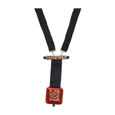 Vacheron Constantin Vacheron Constantin Art Deco Chinois Onyx 18kt Platinum Pendant watch