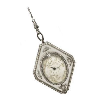 Vacheron Constantin Vacheron Constantin Museum Piece Verger Freres Rock Crystal Pendant Watch