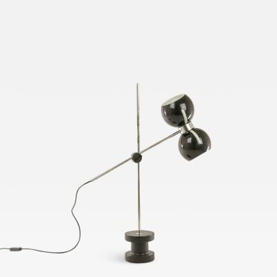 Valenti Adjustable table lamp with cast iron base by Valenti 1970s