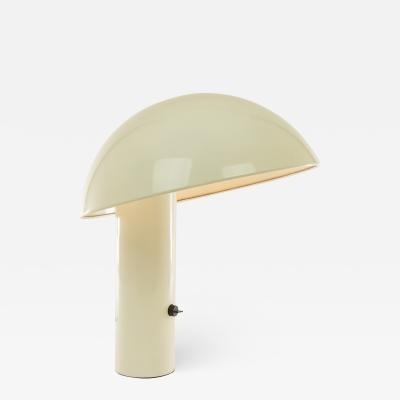 Valenti Luce White Vaga table lamp by Franco Mirenzi for Valenti 1970s