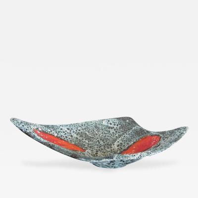 Vallauris Vallauris Textured Ceramic Lava Bowl