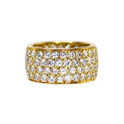 Van Cleef Arpels 18 Karat Gold and Diamond Ring by Van Cleef Arpels circa 1970