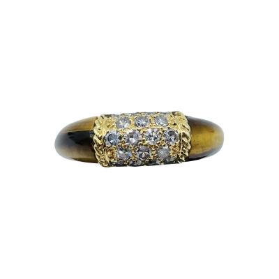 Van Cleef Arpels VCA Tiger Eye Ring