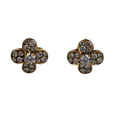 Van Cleef Arpels Van Cleef Arpels Clover Earrings