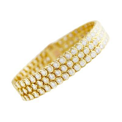 Van Cleef Arpels Van Cleef Arpels Diamond Gold Bracelet