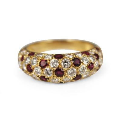 Van Cleef Arpels Van Cleef Arpels Diamond and Ruby Ring