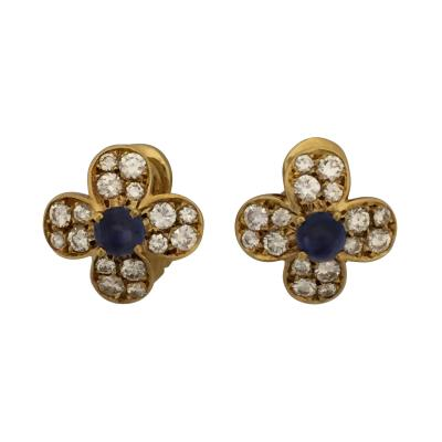 Van Cleef Arpels Van Cleef Arpels Fleurette Earrings