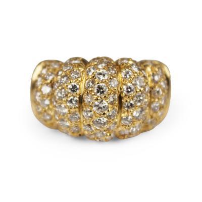 Van Cleef Arpels Van Cleef Arpels Fluted Diamond Ring